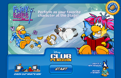 Club Penguin Log in Picture