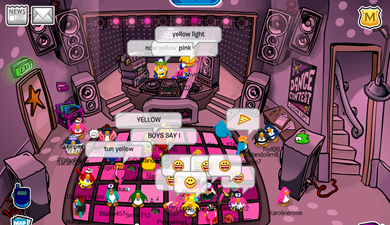 Night Club in Pink :)