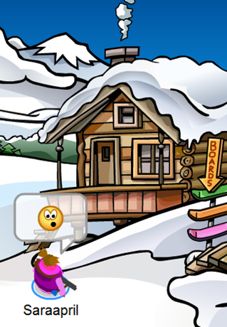 Club Penguin Ski Lodge :)