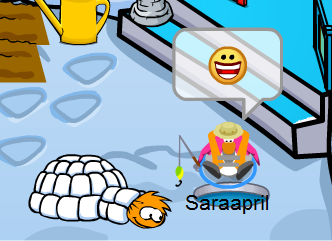 Saraapril's Igloo :)