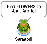 Sarrapril looking for FLOWERS :)