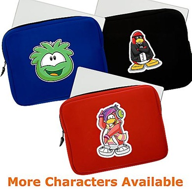 Neoprene Laptop Sleeve Club Penguin Designe :)