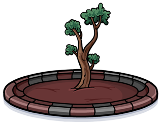 Community Tree in Club Penguin :)