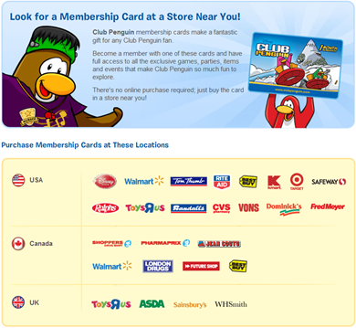 Buy Membership Cards :)
