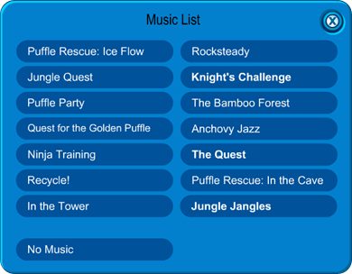 Igloo Music List :)