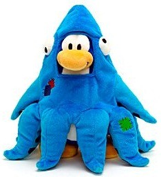 Club Penguin Squizoid Small Soft Toy :)