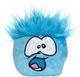 Club Penguin Wave 5 Blue Pet Puffle :)
