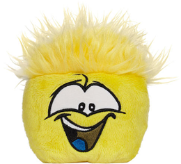 Club Penguin Wave 5 Yellow Pet Puffle :)