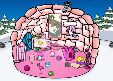 Herbert Poster in Saraapril's Igloo