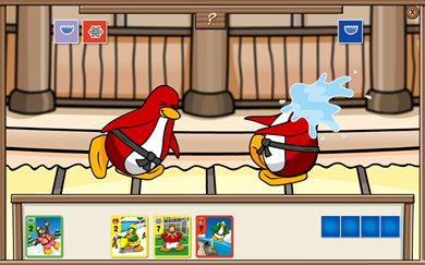 Card-Jitsu Club Penguin