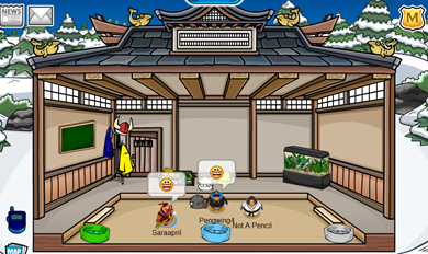 Pengwing4's Igloo in Club Penguin