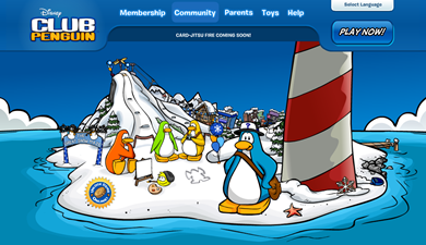 Club Penguins Home Page