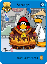 Magma Coat Card-Jitsu Fire Suit