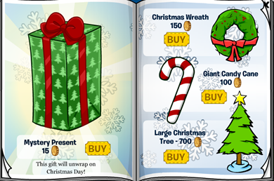 Mystery Present Club Penguin