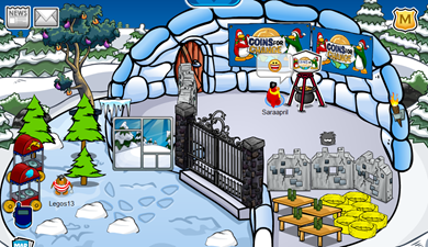 Coins for Change Igloo
