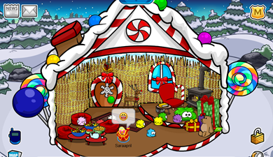 Saraapril's Gingerbread House Igloo :)