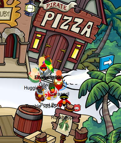 Rockhopper at The Plaza :)