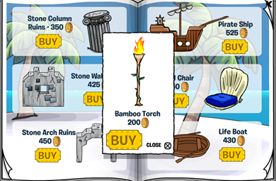 Bamboo Torch  :)