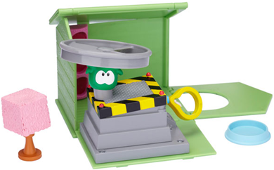 House with Green Puffle Playset :)