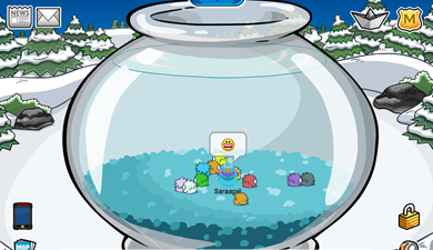 Fish Bowl Igloo :)