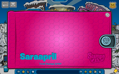 Saraapril's Stamp Book :)