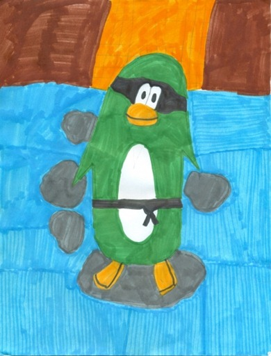 Club Penguin FAN Art :)