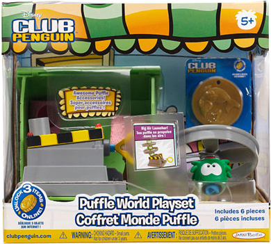 Disney Club Penguin Wave 4 Puffle World Playset :)