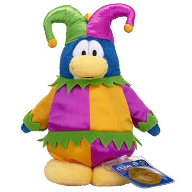 Club Penguin Series 10 Court Jester :)