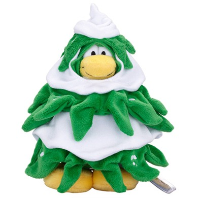 Club Penguin Series 10 Christmas Tree :)