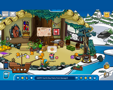 Saraapril's Rockhopper Igloo HAPPY Earth Day Party from Saraapril Regular Screen :)