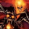 Ghost Rider In Motorbike logo