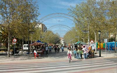 Mercado de la mujer empresaria , Campillos, Málaga.