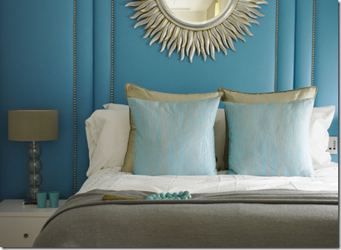 turquoise gold bedroom interior decorating top picks 2012