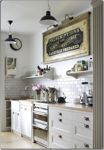 kitchen daisy pink
