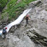その後の滝は快適に登れる