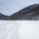 湯檜曽川沿いを歩いて下山