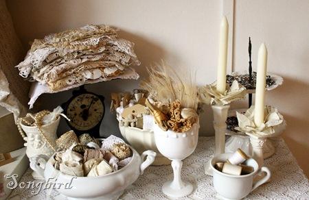 White craft corner
