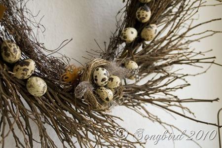 Twigg wreath detail