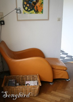 Orange chair 1