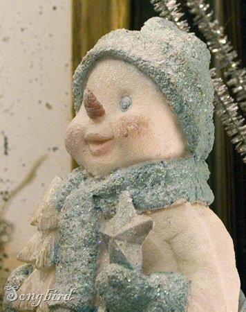 snowman after closeup