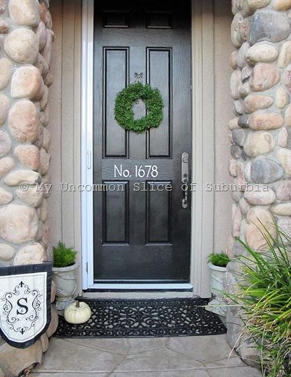 Black Front door 2
