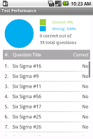 Screenshot of ASQ Six Sigma Green Belt Prep