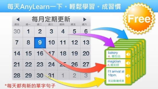 AnyLearn 英文便利學 + 真人發音字典- screenshot thumbnail