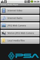 Screenshot of Stream Media Player
