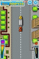 Screenshot of Road Fighter