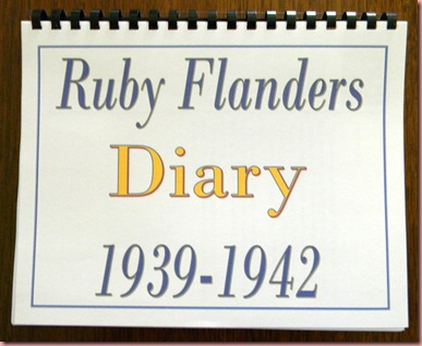 Ruby Diary Cover