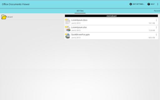 Office Documents Viewer  screenshots 3