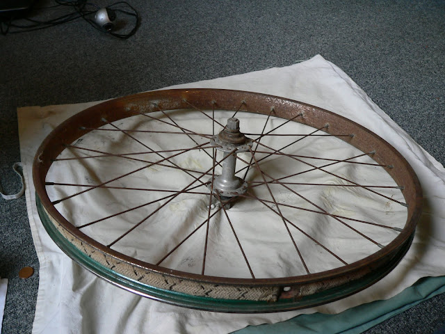 renovation roue solex