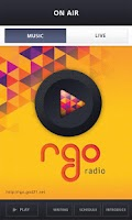 Screenshot of RGO Radio