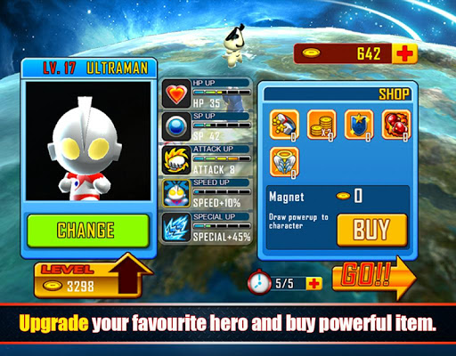 Ultraman Rumble game (apk) free download for Android/PC/Windows screenshot